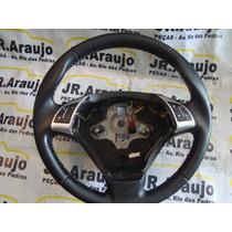 Volante Fiat Punto Linea Controle De So E Borboleta Em Couro
