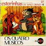 Compacto Os Quatro Musicos - Walt Disney - Abril 1970 Original