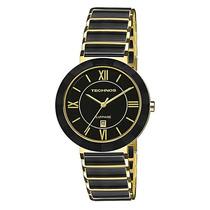 Relógio Technos Feminino Sapphire Ceramic Preto 2015ce/4p