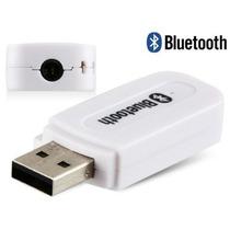 Transmissor Receptor Bluetooth Usb Adaptador Musica Carro P2