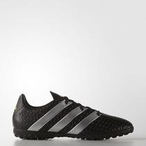Chuteira Society Adidas Suiço Ace 16 4 Tf Preto Original +nf