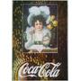 Quadro Coca Cola Retrô Estilo Placa De Mdf Adesivada 20x29cm