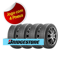 Kit 4 Pneu Aro 15 Bridgestone 195/55r15 Turanza Er30 85h