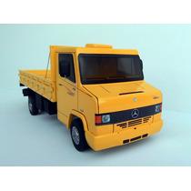 Carro Caminhão Mercedes 710 Plus Brinquedo Madeira