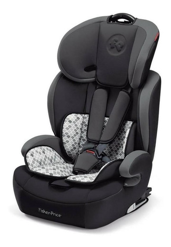 Booster Com Apoio Fisher-price  Safemax Fix Cinza