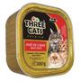 Three Cats Patê De Carne 300g - Gatos Adultos E Filhotes