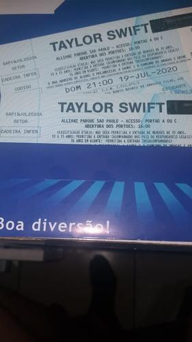 Ingresso Taylor Swift - Cadeira Inferior - 19/07/20 Meia