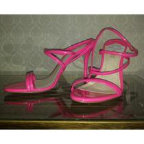 Sandália Salto Médio, Rosa/pink Neon, Envernizado, Arezzo 37