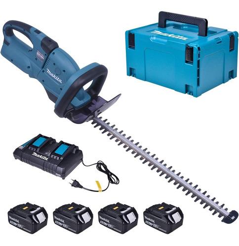 Aparador De Cerca Viva Bateria Duh551z C/ Acessórios Makita