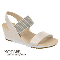 9ac26b7fe Sapato Modare Anabela Ultra Conforto Flex Branco 7014 248 · R$ 105,90 ·  Sandália Feminina Anabela Modare Ultraconforto Creme 7123107