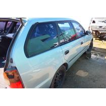 Vidro De Porta Dianteiro Direito Toyota Corolla Sw 95