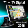 Gps Automotivo Discovery 7 Polegadas Alerta Radar Tv Digital
