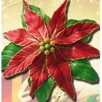 Frisador De Flor Eva Folha De Lírio ,flor De Natal + Frete