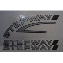 Adesivos Stepway Laterais + Mala Renault Sandero 09/11- Bre