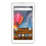 Tablet Multilaser M7 3g Plus Nb30 7  16gb Rosa Com Memória Ram 1gb
