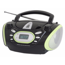 Radio Portatil Cd Player Radio Am Fm Mp3 Boombox Digital