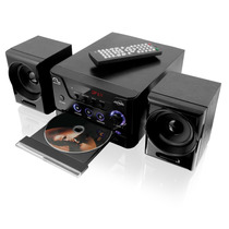 Mini-system Dvd Player Usb Fm Karaokê 30rms Multilaser Sp141