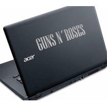 01 Par Adesivo Gun´s Roses Notebook Hp Acer Dell Positivo