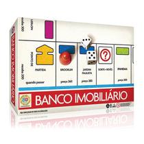 Jogo - Banco Imobiliário - Edição De Aniversário - 80 Anos -