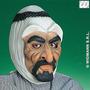 Traje Árabe - Rubber Sheik Taliban Líder Máscara Facial F