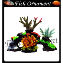Enfeite De Resina Soma Rocha Fundo Do Mar 14 A Fish Ornament