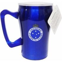 Copo Caneca Cruzeiro Chopp Cerveja Inox 300 Ml Lucca Mania