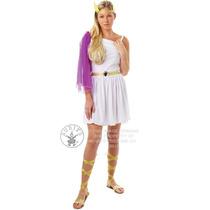 Deusa Grega Costume - Gold Sandals Womens Adulto Extravagant