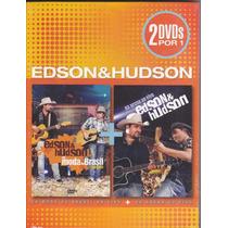 Edson & Hudson - Na Moda Do Brasil - 2 Dvd - Frete Grátis *