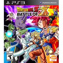Jogo Dragon Ball Z Battle Of Z Ps3 Midia Fisica Lacrado Nf