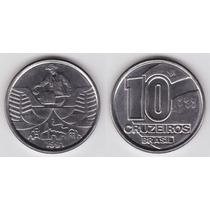 Moedas 10 Dez Cruzeiros Km# 619.1 1990-1991