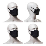 Kit 4 Máscaras De Proteção Lupo Fit - Antimicrobial Lavável