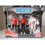 Rocky 3 Paulie & Apollo Creed Rock Balboa Ed.2006 Boneco New