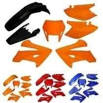 Kit De Carenagem Completo Ho Xr 250 Tornado - Verm 06 Lat. B