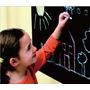 Brinquedo Infantil Quadro Negro Lousa Adesivo Educativo Giz