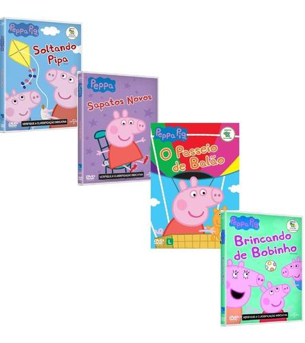Coleção Peppa Pig 10dvds 112 Episódios Completos