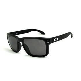 0753452872dac Óculos Sol Oakley Holbrook Preto Masculino 100% Polarizado