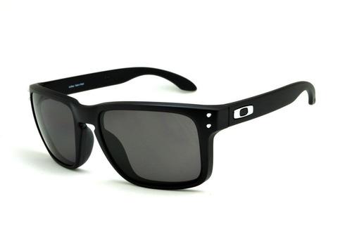 Óculos Sol Oakley Holbrook Preto Masculino 100% Polarizado 3f73cad256