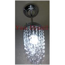 Lustre Pendente Cristal Acrilico Importado Modelo Funil
