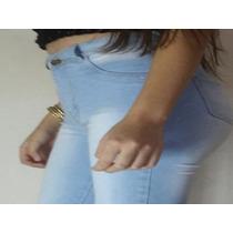 1 Kit Com 15 Peças Calça Hot Pants Cintura Alta Com Elastano