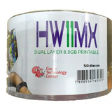 Dvd+r Dual Layer 8.5gb Hw11 Printable Umedisc C/ 50 Unid.