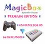 Magicbox Videogame Wireless 64gb De Jogos Raspberry Infanto