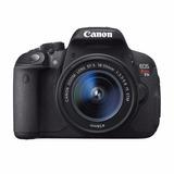 Camera Canon Eos T5i + Lente 18-55mm +bolsa + 32gb