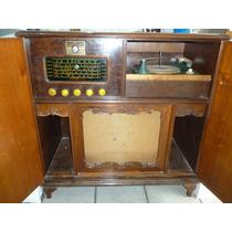 Radiola Antiga General Electric Valvulada Funcionando