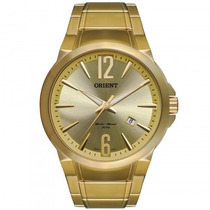 Relógio Orient Mgss1074 C2kx Masculino Dourado - Refinado