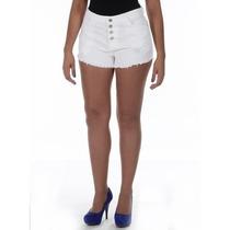 Shorts Branco Jeans Femininoestilo Anitta Hot Pantssawary