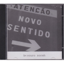 Besouro Zorah - Cd Novo Sentido - 2002 - Seminovo