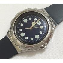 Relógio De Pulso Feminino Swatch Swiss Preto Original