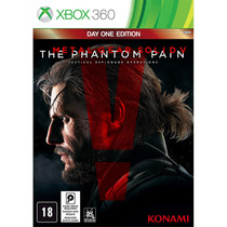 Jogo Metal Gear Solid V: The Phantom Pain - Xbox 360