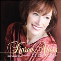Cd Karen Akers Simply Styne