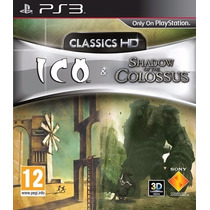 Ps3 - Ico + Shadow Of The Colossus Hd Novo